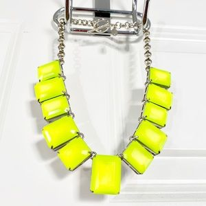 Ann Taylor Neon Lights Short Necklace